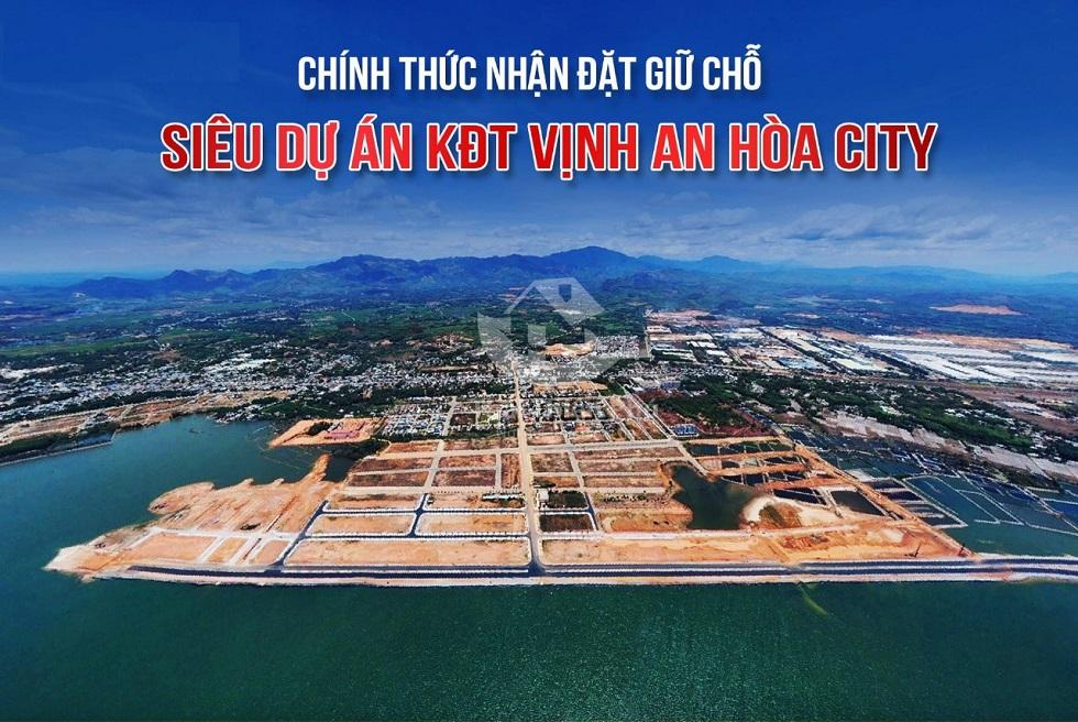 Đất nền Vịnh An Hòa City liền kề sân bay Chu Lai